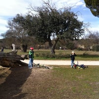 Photo taken at Monte de Boadilla by Arantxa A. on 1/26/2014