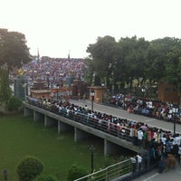Photo taken at Wagah Border - India Pakistan Border by Kutup on 10/13/2012