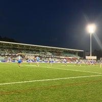 Photo taken at Pirtek Stadium by KAGE on 7/13/2013
