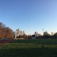 "Photo taken at Stadionul Național de Rugby ""Arcul de Triumf"" by Theodor S. on 10/9/2016"