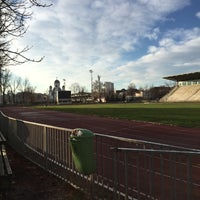 "Photo taken at Stadionul Național de Rugby ""Arcul de Triumf"" by Theodor S. on 11/30/2015"