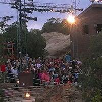 Photo taken at Lion's Wilderness Amphitheater - PRCA by Scott M. on 8/2/2013