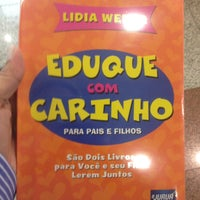 Photo taken at Livrarias Curitiba by Lissandra F. on 4/23/2013