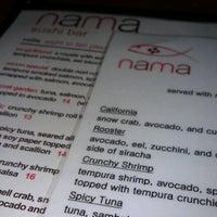 Photo taken at Nama Sushi Bar by Lizzi on 9/29/2012