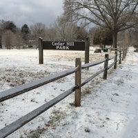 Photo taken at Cedar Hill Park by GaTechGrad on 2/17/2015
