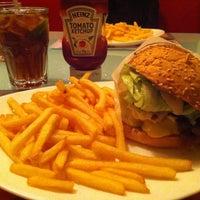 Photo taken at Eddie Fine Burgers by Deborah S. on 12/9/2012