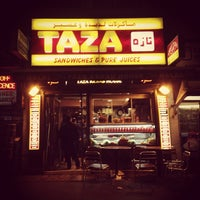 Photo taken at Taza Kebab House by Pom-Pomme on 9/29/2013