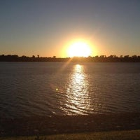 Photo taken at Evansville Riverfront by Brittany G. on 9/19/2012