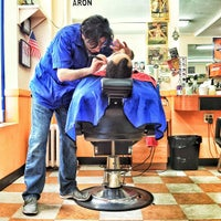 Photo taken at Astoria Barbers by Dontae M. on 5/18/2013