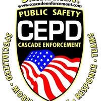 Photo taken at Cascade Enforcement Agency by Blake J. on 3/26/2013