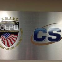 Photo taken at Cascade Enforcement Agency by Blake J. on 12/28/2012