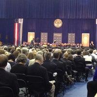 Photo taken at McDonough Gymnasium, Georgetown University by Susan X. on 5/16/2014