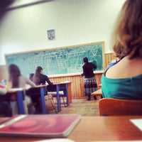"Photo taken at Colegiul Național ""Matei Basarab"" by Doru M. on 11/20/2012"