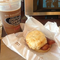 Photo taken at Dunkin' Donuts by B H. on 4/21/2013