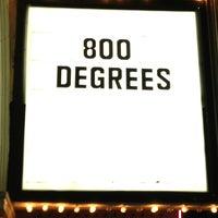 Photo taken at 800 Degrees Neapolitan Pizzeria by David M. on 2/2/2013