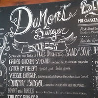 Photo taken at DuMont Burger by Selena M. on 3/15/2013