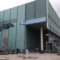 Photo taken at Bibliothèque et Archives nationales du Québec (Grande Bibliothèque) by Dan on 5/11/2013