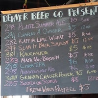 Photo taken at Denver Beer Co. by Keith B. on 8/20/2013