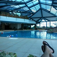 Photo taken at Blue Mountain Hotel & SPA by Adriano d. on 3/9/2013