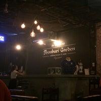 Photo taken at ThonBuri Garden Bar & Restaurant by Nawaporn M. on 3/24/2016