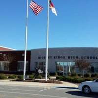 Photo taken at Hickory Ridge High School by Mark P. on 11/18/2013