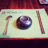 Photo taken at Nha Hang Chay Hoan Hy by Nguyen Z. on 1/25/2013