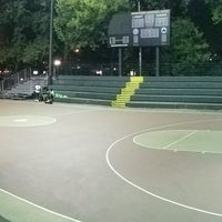 Photo taken at Rucker Park Basketball Courts by cyndie ♤. on 9/6/2016