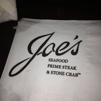 Photo taken at Joe's Seafood, Prime Steak & Stone Crab by Rosa L. on 10/20/2012