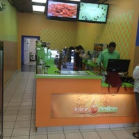 Photo taken at Juice Nation by Darnell I. on 7/24/2013
