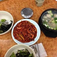 Photo taken at 무교동유림낙지 by Sera K. on 7/6/2014