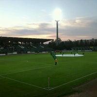 Photo taken at Rohonci úti stadion by Toke Gabor on 10/6/2012