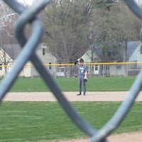 Photo taken at Broad Ripple Baseball Park by Jana H. on 4/18/2014