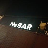 Photo taken at NoBar by Richie D. on 2/10/2013