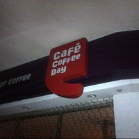 Photo taken at Cafe Coffee Day by Khozeima F. on 6/1/2013