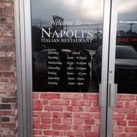 Photo taken at Napoli's by Barbara M. on 4/10/2015