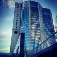 Photo taken at Corinthia Hotel Prague by Anna O. on 1/3/2013