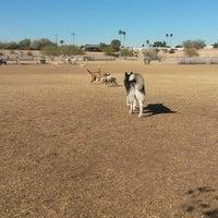 Photo taken at Echo Mountain Dog Park by Tamra P. on 1/16/2014