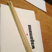 Photo taken at Wagamama by 💎Babis💀 K. on 1/4/2013