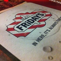 Photo taken at TGI Fridays by Assad U. on 2/18/2013
