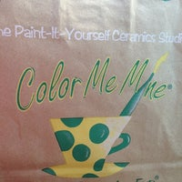 Photo taken at Color Me Mine by Mary C. on 11/2/2012