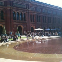 Photo taken at Victoria and Albert Museum (V&A) by Zeynep K. on 4/20/2013