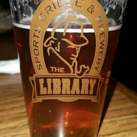 Photo taken at The Library Sports Grill and Brewery by Larry V. on 10/17/2016