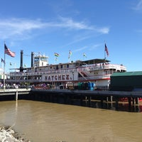 Photo taken at Steamboat Natchez by Darren T. on 2/4/2013