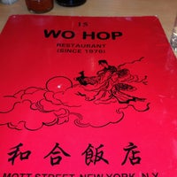 Photo taken at Wo Hop Restaurant by Vinnie R. on 3/10/2013