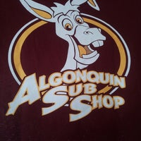 Photo taken at Algonquin Sub Shop by Gino S. on 4/4/2013