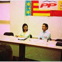 Photo taken at Partido Popular Ctat. Valenciana by Gonzalo M. on 7/11/2013