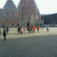 Photo taken at Strēlnieku laukums | Square of Latvian Riflemen by Alex S. on 3/24/2013