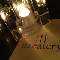 Photo taken at 112 Eatery by Ken T. on 2/12/2013