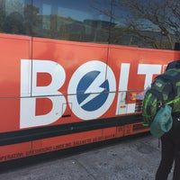 Photo taken at BoltBus Midtown Stop by Em H. on 11/13/2016