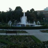 Photo taken at Jardins del Reial - Vivers by Sara C. on 10/9/2012